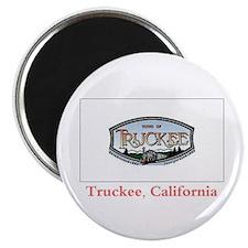 Truckee CA Flag Magnet