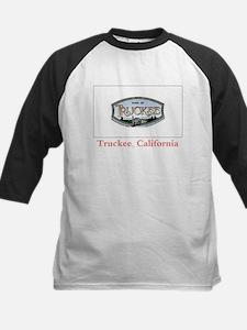Truckee CA Flag Kids Baseball Jersey