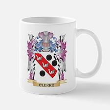 Clerke Coat of Arms (Family Crest) Mugs
