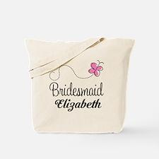 Bridesmaid Bridal Party Custom Tote Bag