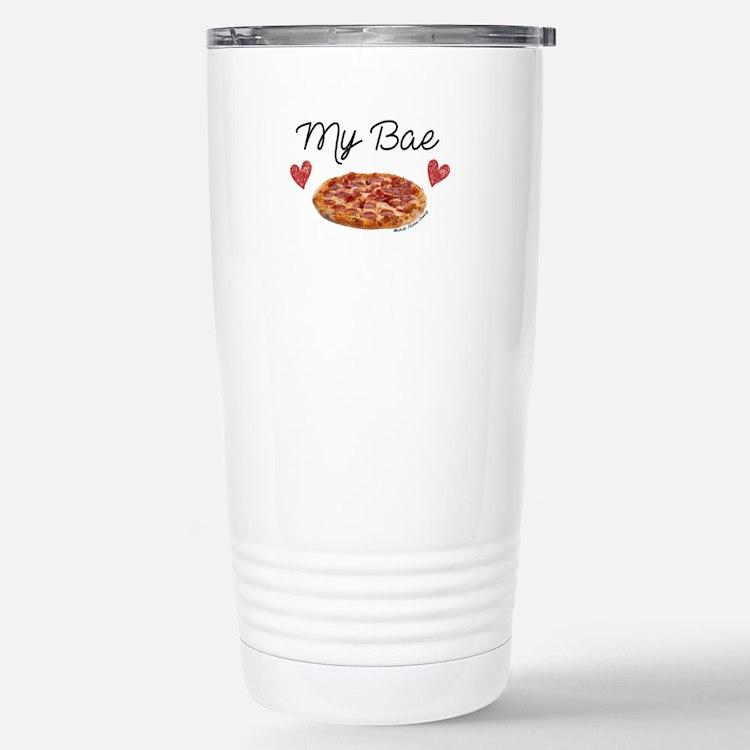 Cute Pizza Travel Mug