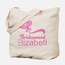 Cute Bridesmaid Personalized Gift Tote Bag