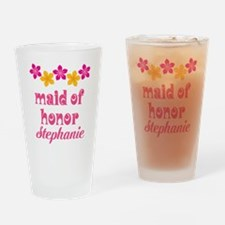 Maid Of Honor Personalized Hawaiian Drinking Glass