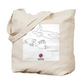 Aikido institute Canvas Totes