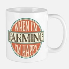 happy farmer Mug