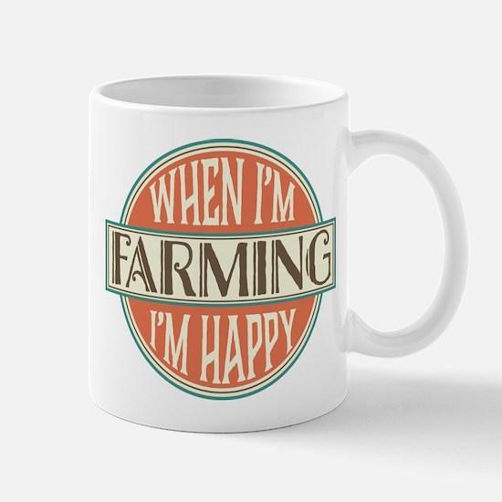happy farmer Mug