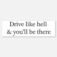 Driving sticker