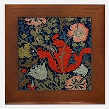 Cute Patterns Framed Tile