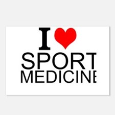 I Love Sports Medicine Postcards (Package of 8)