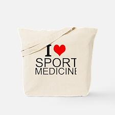 I Love Sports Medicine Tote Bag