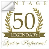 50th birthday Wall Decals
