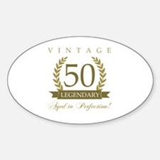 Unique 50th birthday Decal