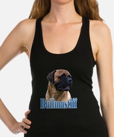 Unique Bullmastiff Racerback Tank Top