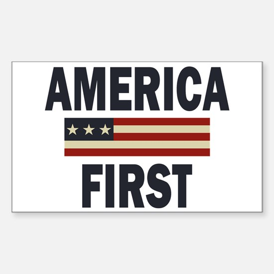 America First Decal