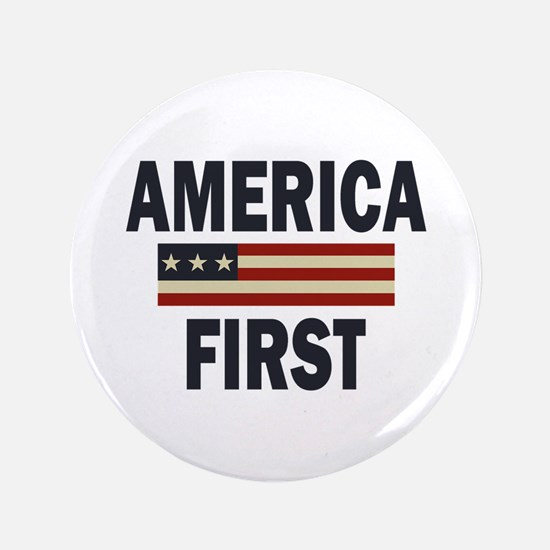 America First Button