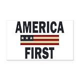 "America first 3"" x 5"""