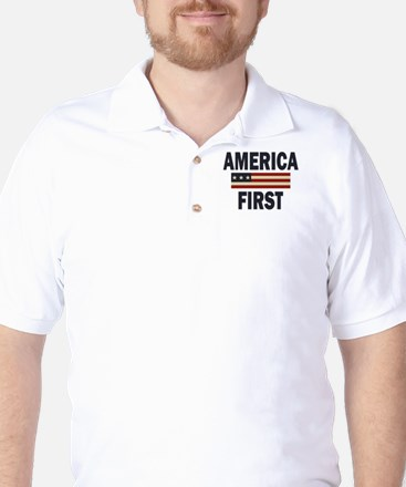 America First Golf Shirt