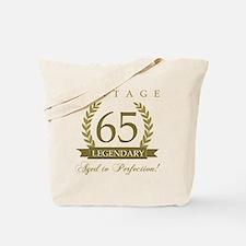 Cute 65th birthday Tote Bag