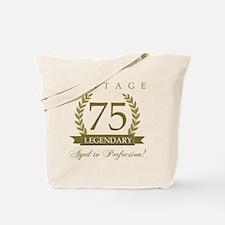 Cute 75 birthday Tote Bag