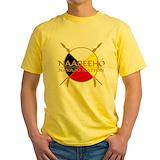 Navajo Mens Yellow T-shirts