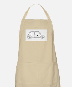 Compact Saloon Outline Drawing Apron