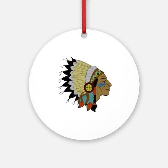 CHIEF Round Ornament