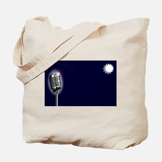 Karaoke Stage Night Tote Bag