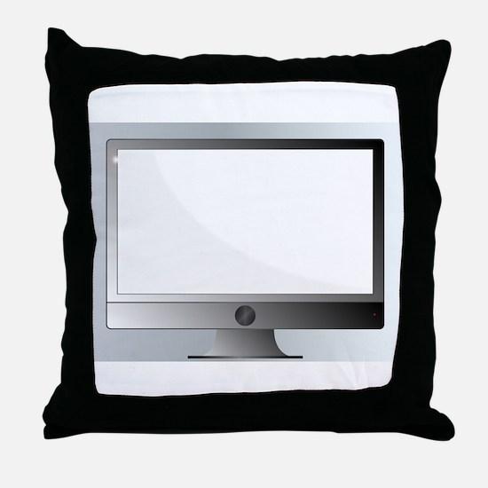 Modern Computer Throw Pillow