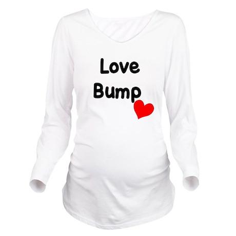 Love Bump Long Sleeve Maternity T-Shirt