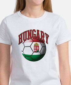 Flag of Hungary Soccer Ball T-Shirt