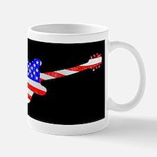 Patriot Flag Guitar Mugs