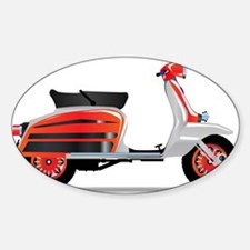 60s Scooter Motorbike Decal