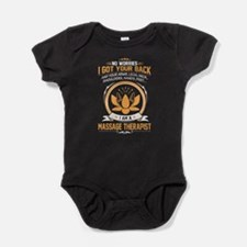 Cute Massage Baby Bodysuit