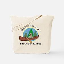 Unique River float Tote Bag
