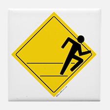 Runner Crossing Tile Coaster