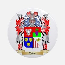Xavier Round Ornament