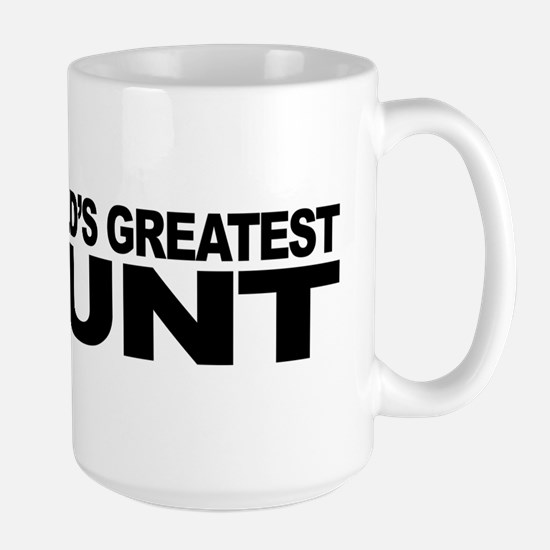 World's Greatest Cunt Large Mug