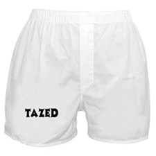 Tazed by Taser Boxer Shorts