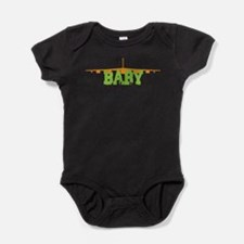 Cute Military mommy Baby Bodysuit