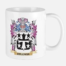 Coleman Coat of Arms (Family Crest) Mugs