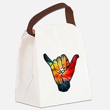 Unique Snowboard Canvas Lunch Bag