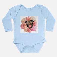 chew rose pug Body Suit