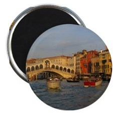 Venice Italy, Rialto Bridge photo- Magnet