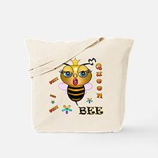 QUEEN BEE, Tote Bag