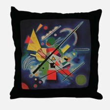 Funny Kandinsky Throw Pillow