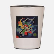 Cute Modern art Shot Glass