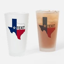 Texas secede Drinking Glass