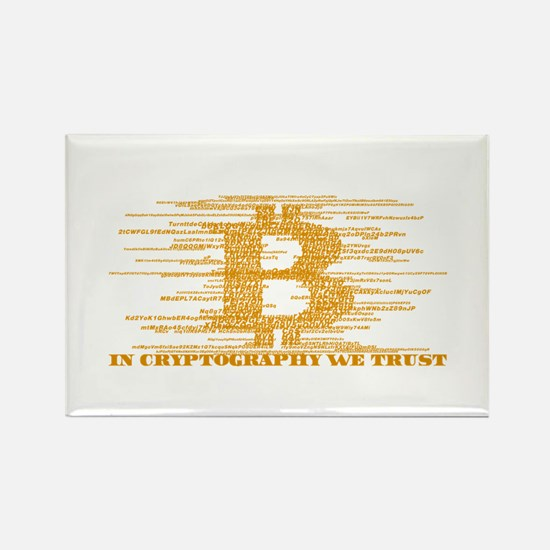 IN CRYPTOGRAPHY WE TRUST Magnets