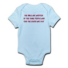 Flat Earth Bible Thumpers Infant Bodysuit