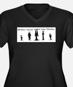 Addams Family Plus Size T-Shirt